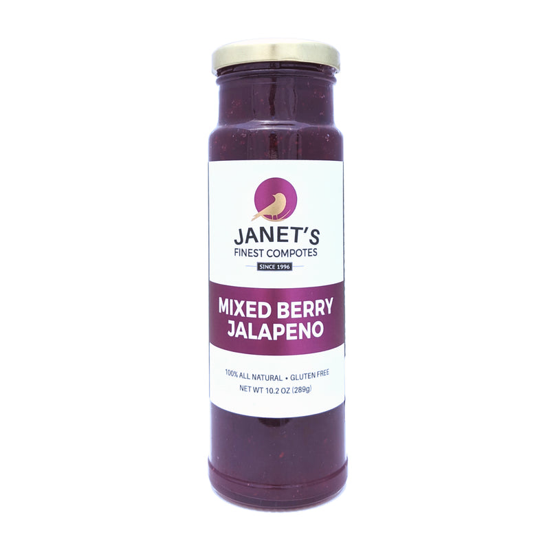 Janet's Finest Compotes Mixed Berry Jalapeno