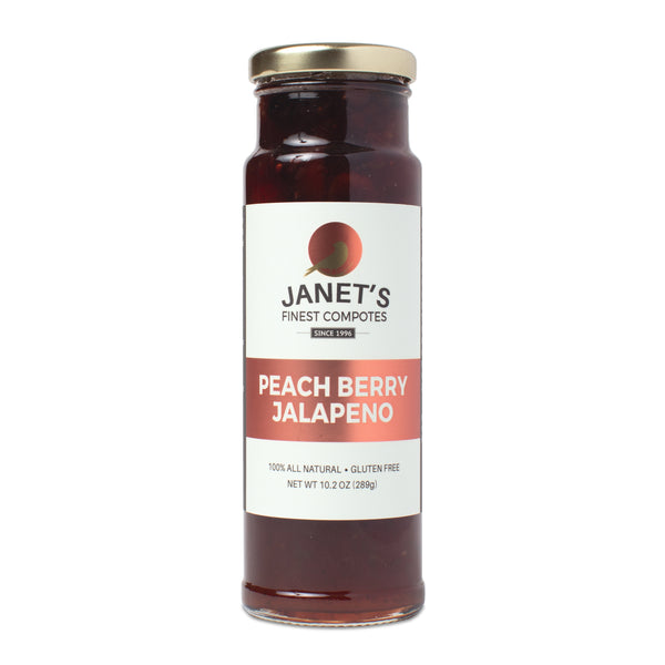 Janet's Finest Compotes Peach Berry Jalapeno