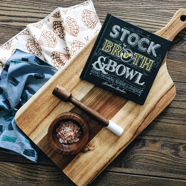 Stock, Broth & Bowl by Jonathan Bender