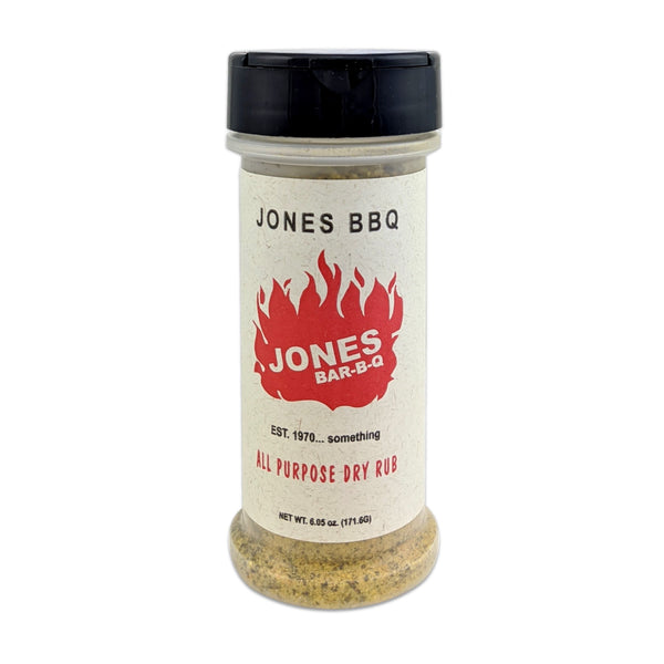 Jones Bar-B-Q All Purpose Dry Rub