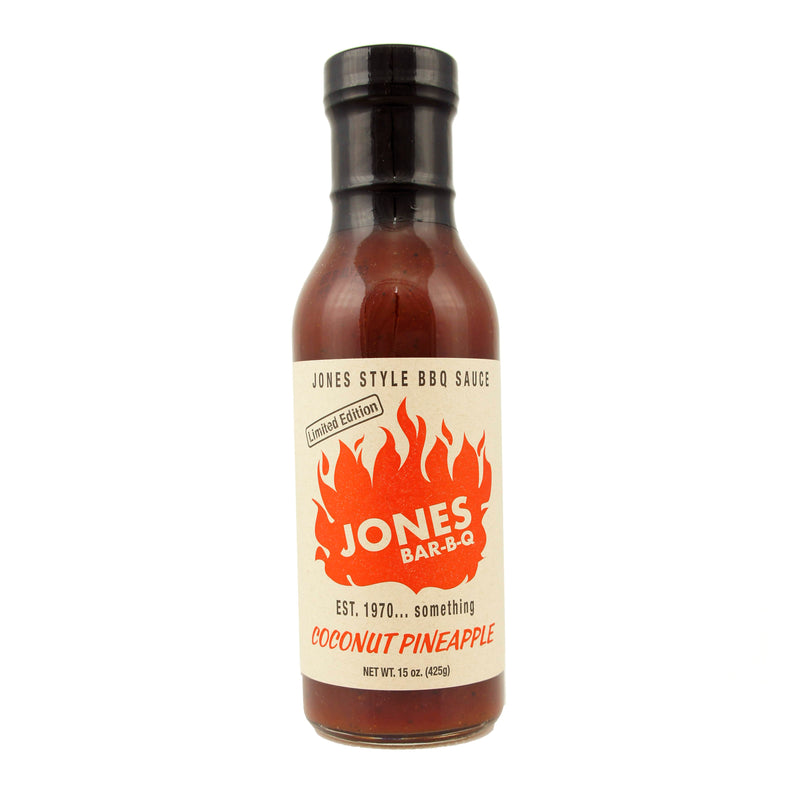 Jones Bar-B-Q Coconut Pineapple Sauce