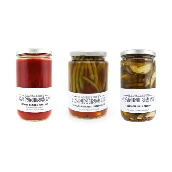 Kansas City Canning Co. Bloody Mary Kit Trio