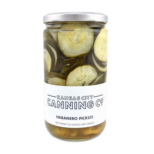 Kansas City Canning Co. Habanero Pickles