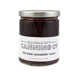 Kansas City Canning Co. Red Wine Cranberry Sauce