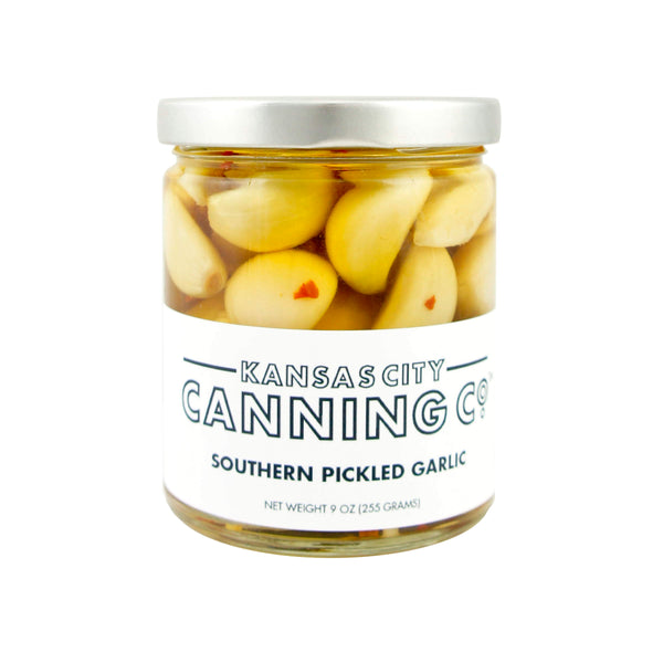 Kansas City Canning Co. Southern Pickled Garlic