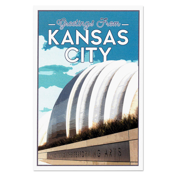 KC Landmarks Project Postcard: Performing Arts Center