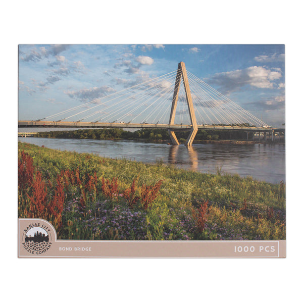 Kansas City Puzzle Co. Bond Bridge Puzzle