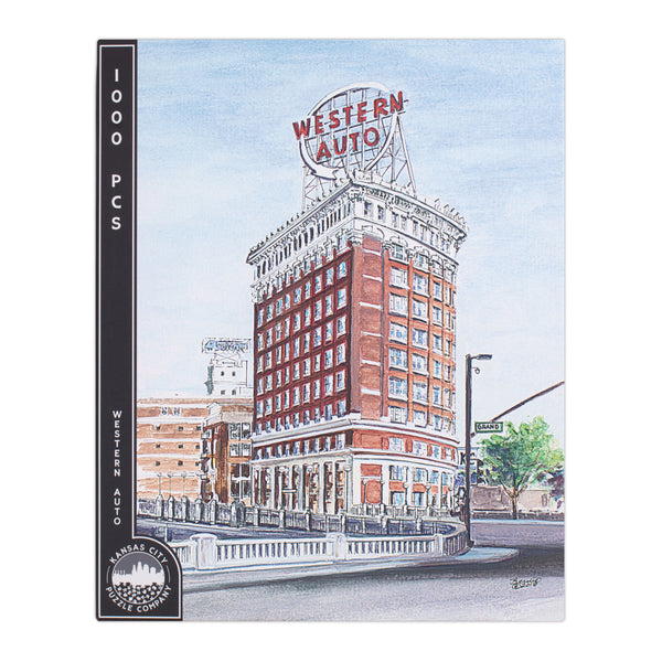 Kansas City Puzzle Co. Western Auto Puzzle
