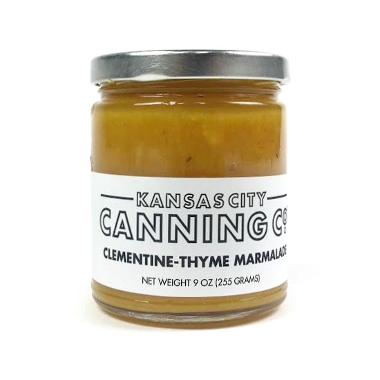 Kansas City Canning Co. Clementine-Thyme Marmalade