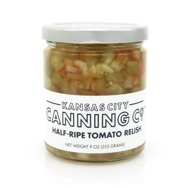 Kansas City Canning Co. Half-Ripe Tomato Relish