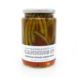 Kansas City Canning Co. Sriracha Pickled Green Beans
