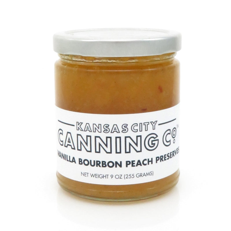 Kansas City Canning Co. Vanilla Bourbon Peach Preserves