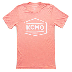 The Kansas City Clothing Co. KCMO Tee - Coral