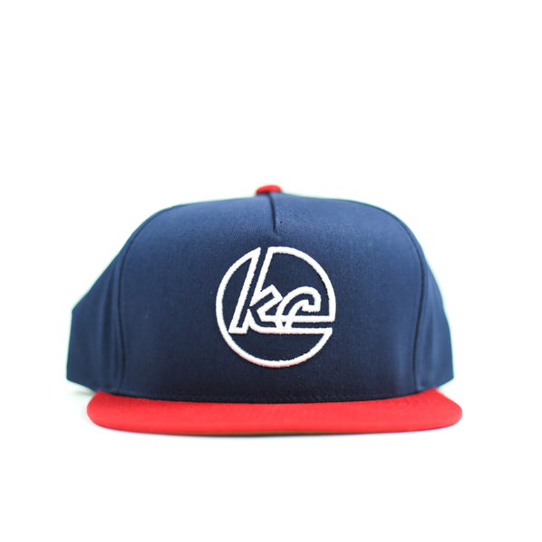 The Kansas City Clothing Co. KC Snapback Flat Bill Hat