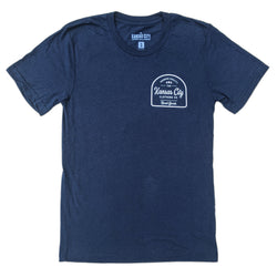 The Kansas City Clothing Co. Shuttlecock Tee - Navy