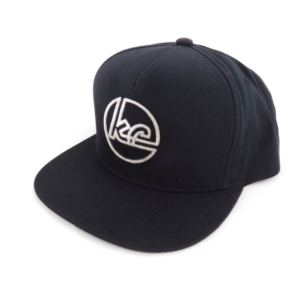 The Kansas City Clothing Co. Black KC Snapback Flat Bill Hat