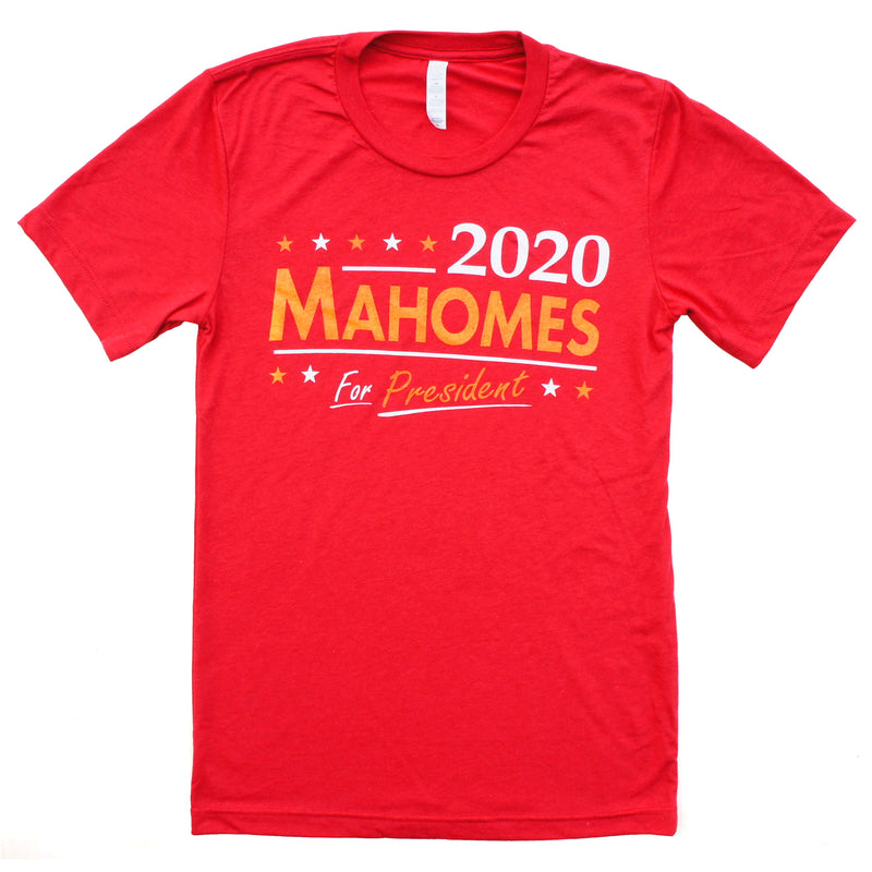 KC Labyrinth 2020 Mahomes for President Tee