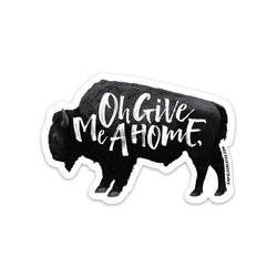 KINFOLK CREATED Oh Give Me a Home Sticker
