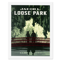 Kelly Pullen Design Loose Park Print