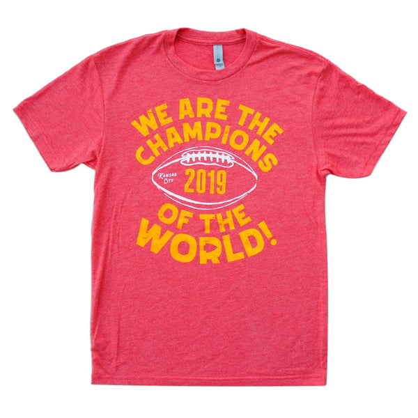 KINFOLK CREATED We Are the Champions of the World Tee