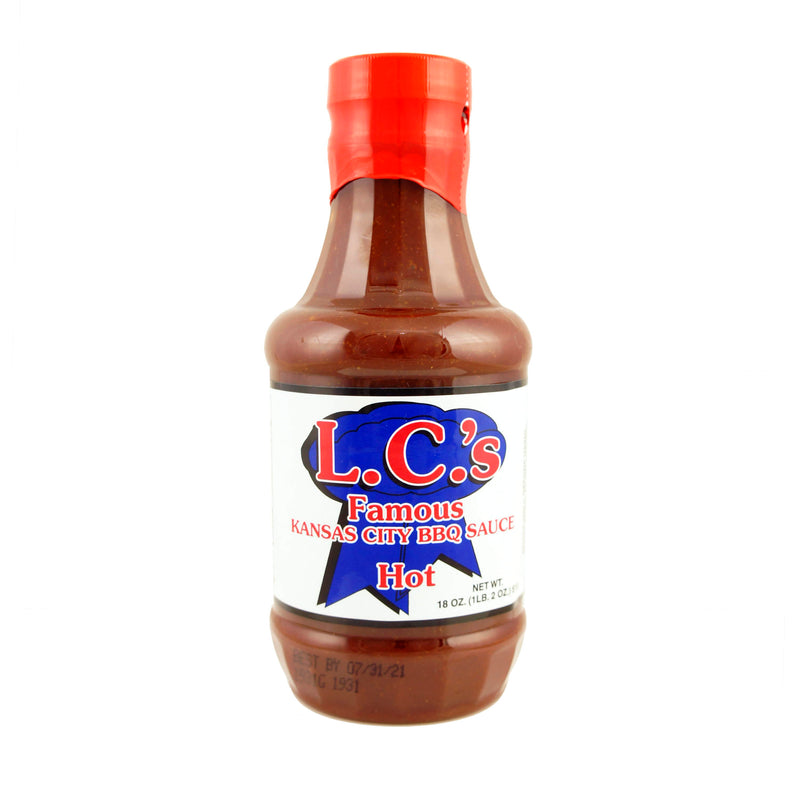 LC's Famous Kansas City BBQ Sauce - Hot