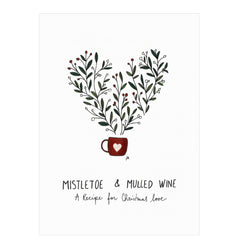 Little Clementine Studio Mistletoe Card