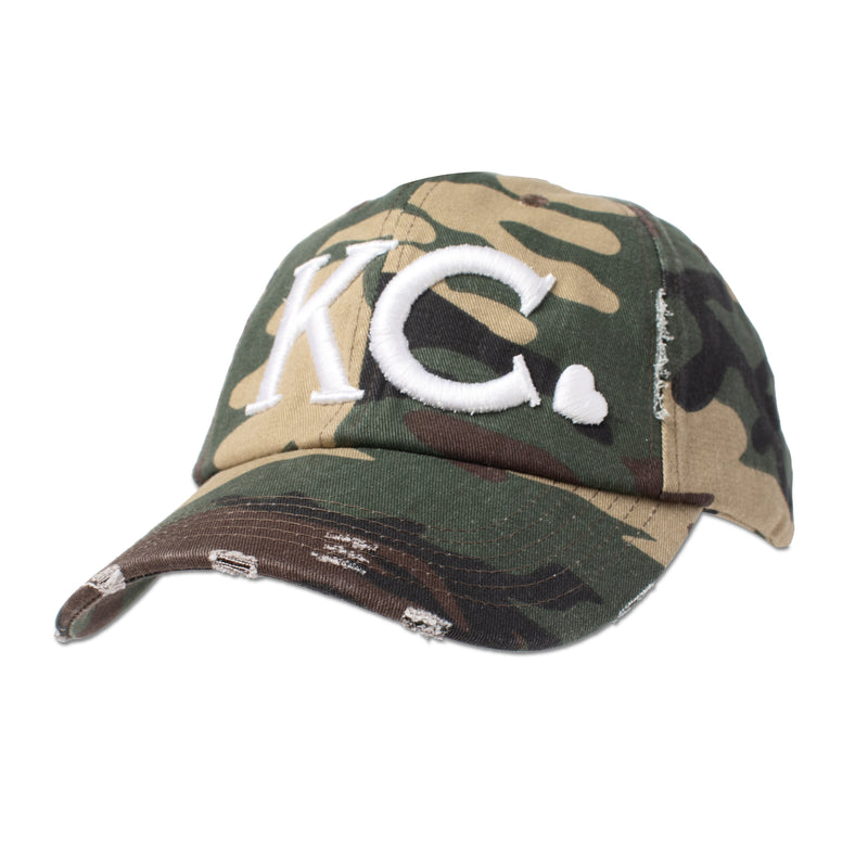 Local T Heart KC Hat - Camo