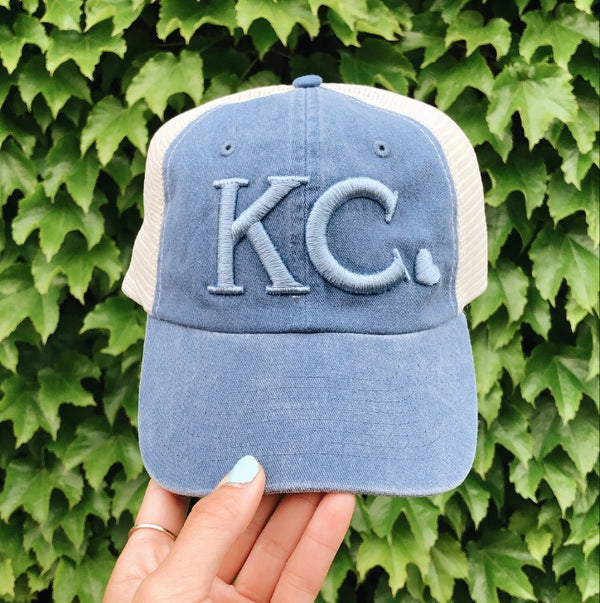 Local T Heart KC Hat - Denim
