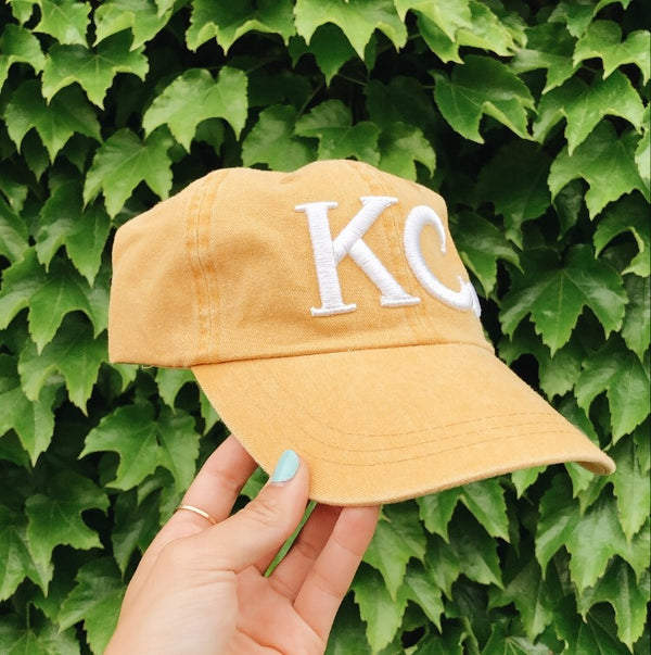 Local T Heart KC Hat - Yellow