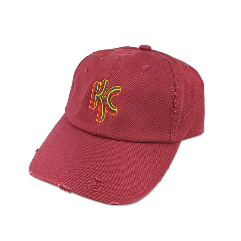 Local T KC Stripe Hat - Red
