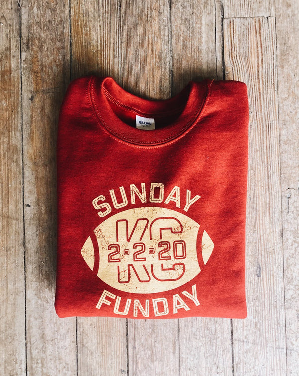 Local T Sunday Funday 2-2-20 Sweatshirt