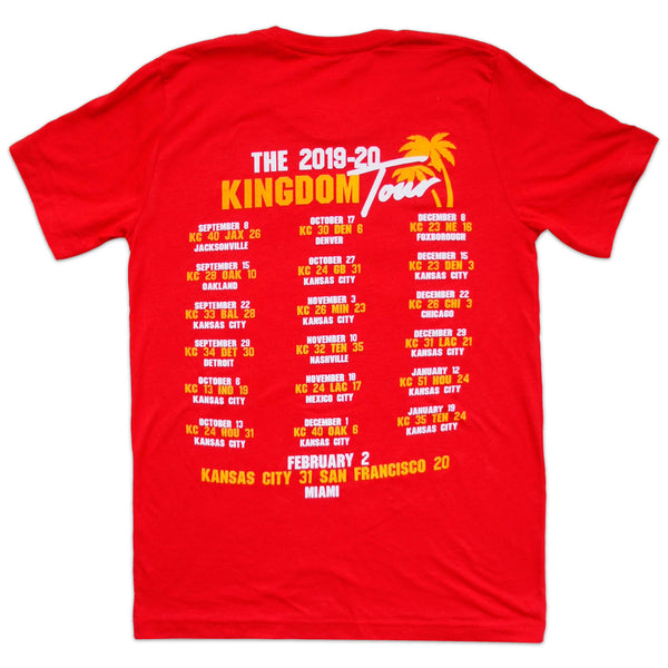 Loyalty KC Kansas City Kingdom 2019 Tour Tee