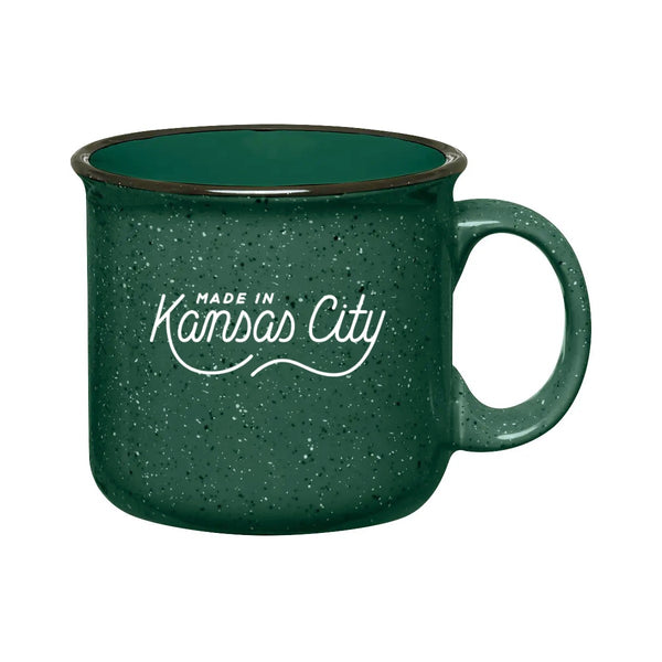 Made in Kansas City Mug - Green