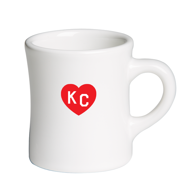 Made in KC x Charlie Hustle KC Heart Diner Mug
