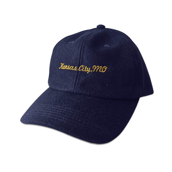 Kansas City, MO Wool Baseball Hat