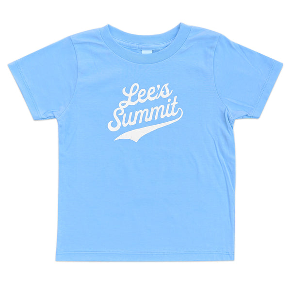 Lee's Summit Kids Tee - Light Blue