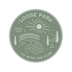 Loose Park Sticker