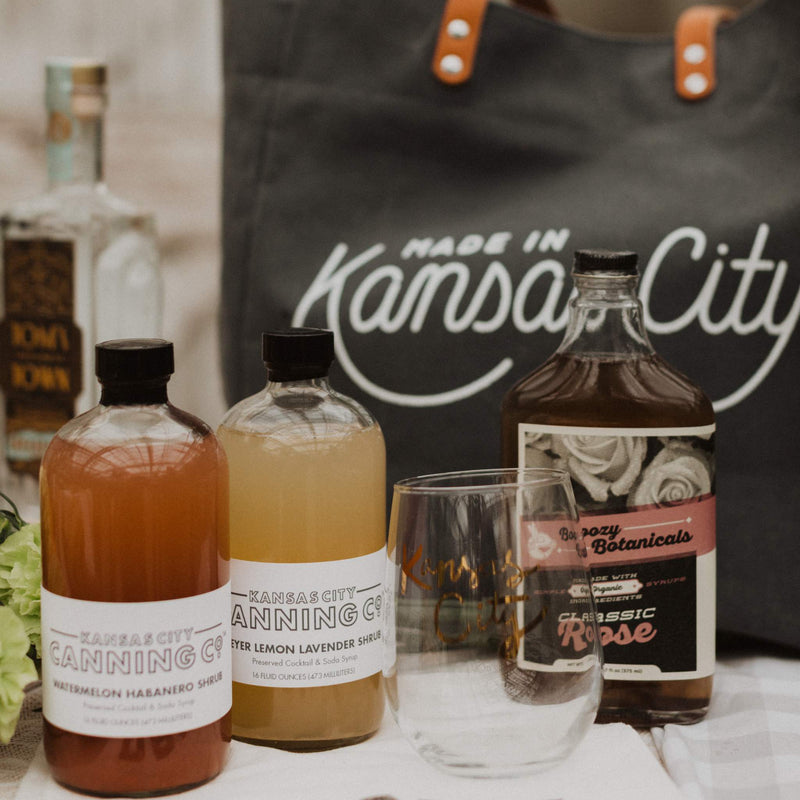 Boozy Botanicals Classic Rose Simple Syrup