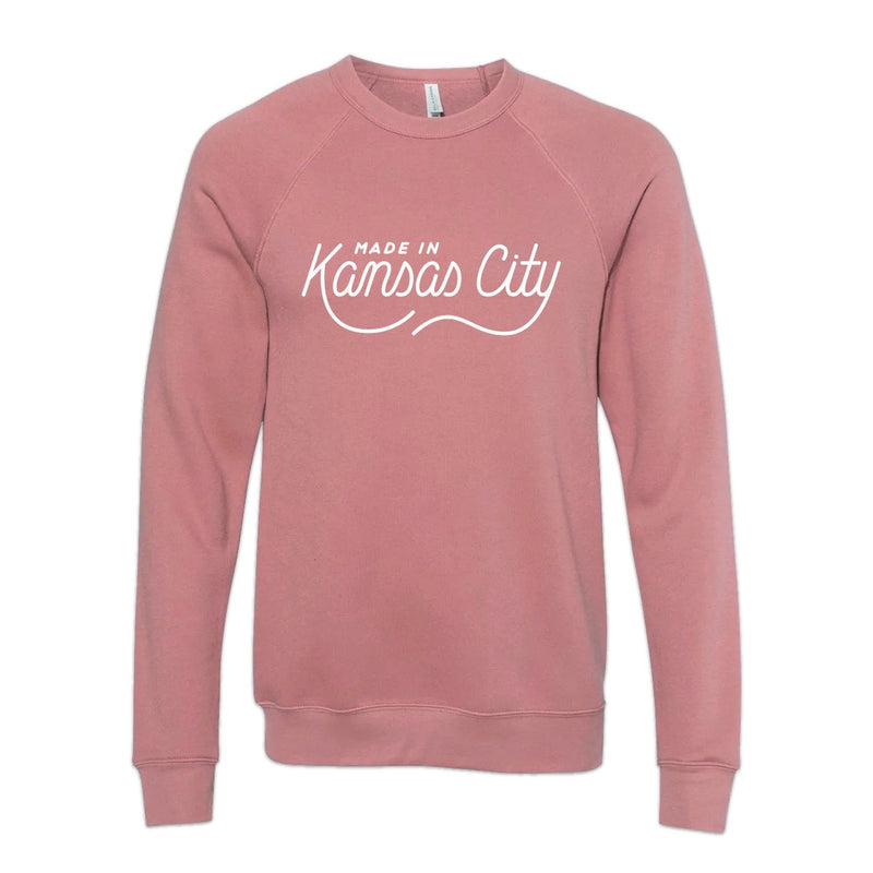 Made in Kansas City Pullover - Mauve