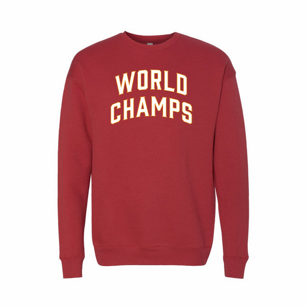 World Champs Sweatshirt - Red
