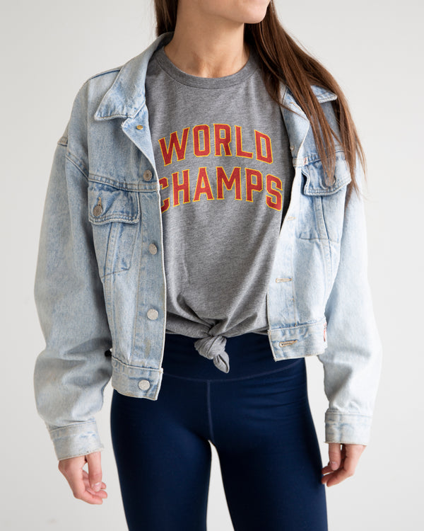 World Champs Tee - Grey