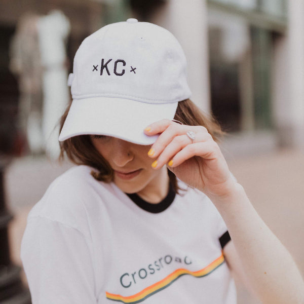 MADE MOBB KC Dad Hat - White
