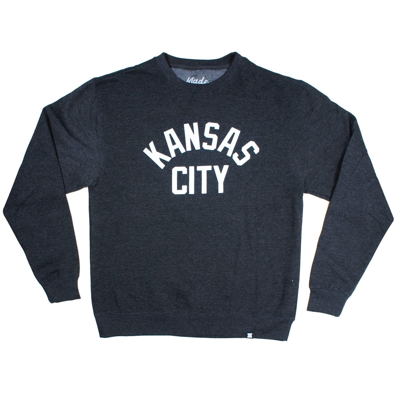 MADE MOBB Kansas City Pullover - Charcoal
