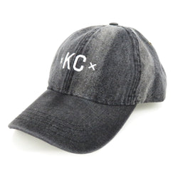 MADE MOBB KC Dad Hat - Black Denim