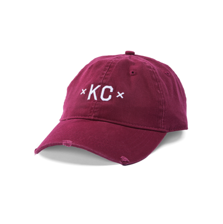 MADE MOBB KC Dad Hat - Maroon