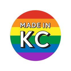 Made In KC Sticker - Rainbow