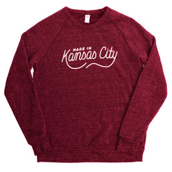 Made in Kansas City Pullover - Burgundy