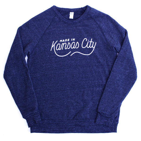 Made in Kansas City Pullover - Navy