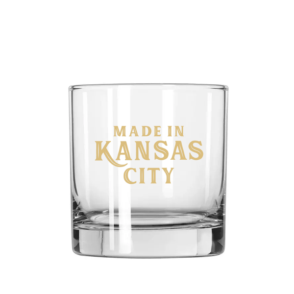 Made in KC Whiskey Glass