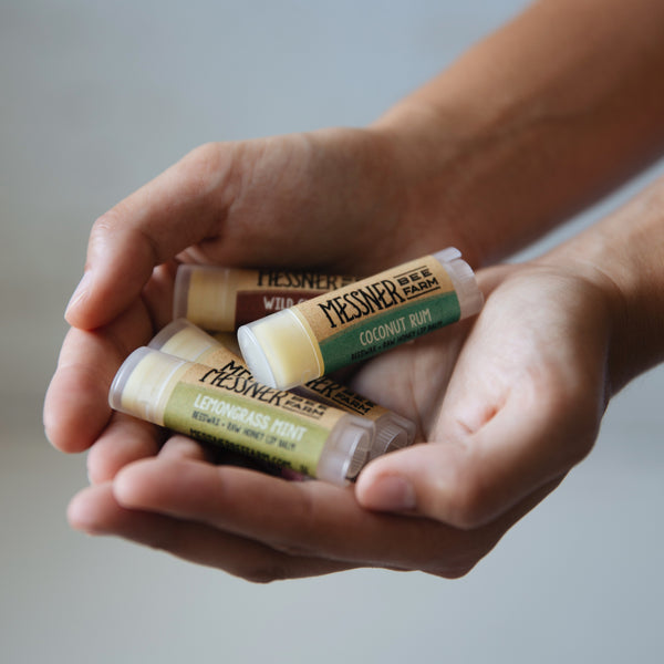 Messner Bee Farm Coconut Rum Lip Balm